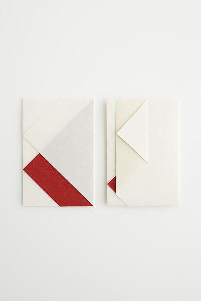 紙幣包み(小) (紅白胡粉)